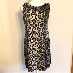 Leopard Shimmery Dress